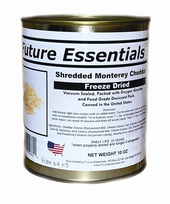 Freeze Dried Monterey Cheddar Cheese