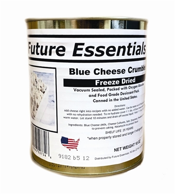 Freeze Dried Blue Cheese