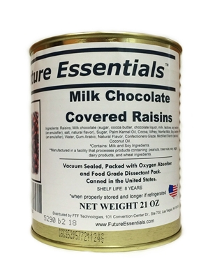 Future Essentials Milk Chocolate Covered Raisins