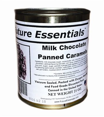 Milk Chocolate Panned Caramels