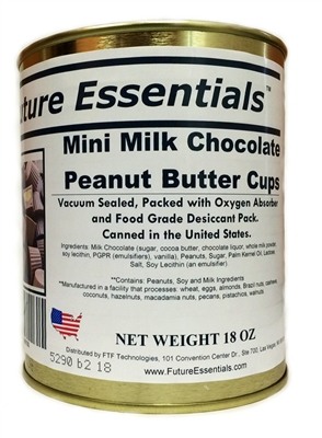 Future Essentials Milk Chocolate Peanut Butter Cups