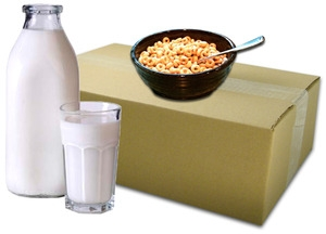 Future Essentials Canned Breakfast Cold Cereal Variety and Milk