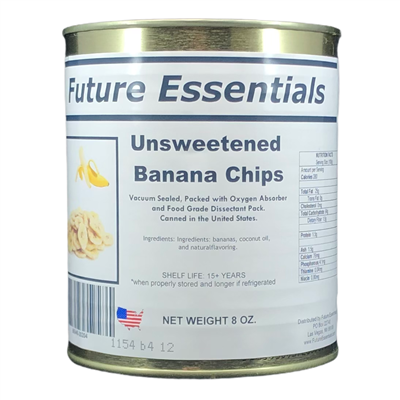 Future Essentials Dehydrated Banana Chips