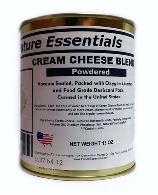 Long Shelf Life Cream Cheese Blend