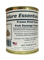 Future Essentials Freeze Dried Pork Sausage Crumbles
