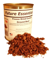 Future Essentials Cooked Freeze Dried Ground Beef