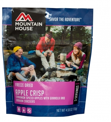 Mountain House Freeze Dried Apple Crisp