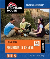 Mountain House Freeze Dried Macaroni & Cheese