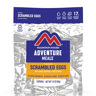 Mountain House Freeze Dried Scrambled Eggs with bacon Pro Pak