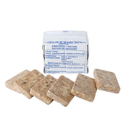 Datrex Emergency Food Ration - 2400 Calories