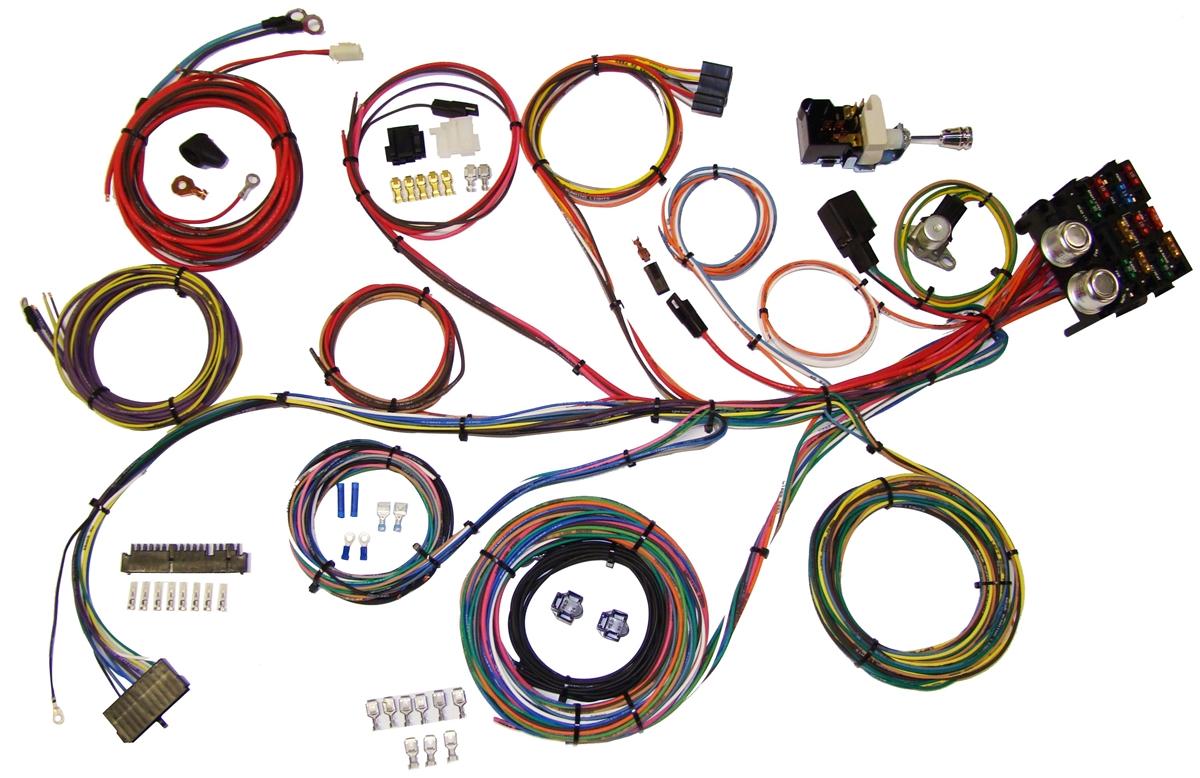 American Autowire Power Plus 13 Wiring Harness Kit 510004 1997 Geo Metro