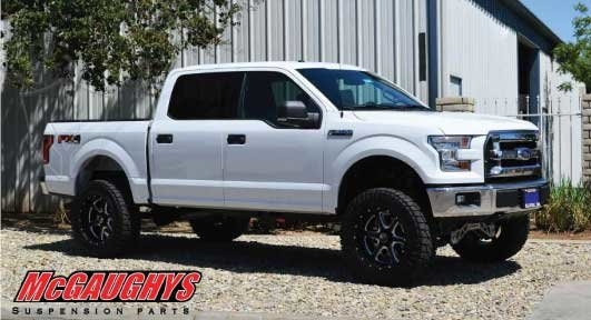 Mcgaughys 2015 To 2017 Ford F150 Premium 6 5 Inch Lift Kit 4wd 57100