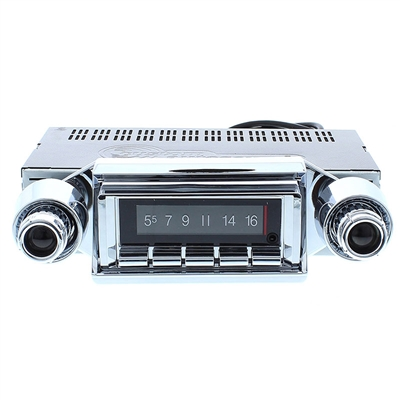 Custom Autosound Stereo compatible with 1957 Chevy Bel Air /& Nomad 150//210 USA-630 II High Power 300 watt AM FM Car Stereo//Radio