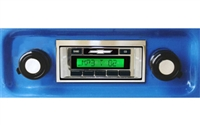 Custom Autosound USA-630 II Vintage Style Radio for All Vehicle Types