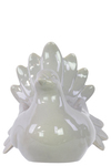 UTC28562 Ceramic Pigeon Figurine LG Gloss Finish Gray