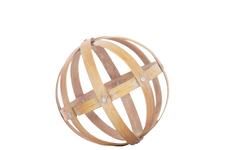 UTC39309 Bamboo Orb Dyson Sphere Design (5 Circles) MD Natural Wood Finish Light Brown