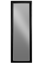 UTC40193 Wood Rectangular Leaner Mirror Coated Finish Black