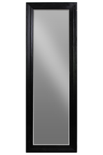 UTC40195 Wood Rectangular Leaner Mirror Coated Finish Black
