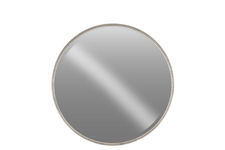 UTC40784 Metal Round Wall Mirror LG Tarnished Finish Antique Silver