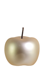 UTC44301 Ceramic Apple Figurine SM Matte Pearlescent Finish Gold