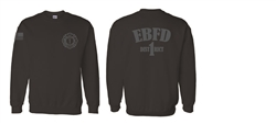EBFD Crewneck Tone on Tone Sweatshirt (NEW)