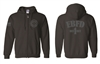EBFD Full Zip Tone on Tone Hoodie (NEW)