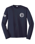 EBFD Cool & Dry Sport Long-Sleeve Performance Interlock T-Shirt