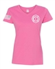 EBFD Ladies V-Neck T-Shirt