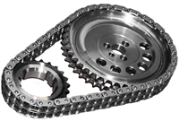 ROL-CS10035 Rollmaster - Timing Chain Set - Double Roller - LS1/LS6 Tall Deck 3 Bolt 1X Cam Reluctor - Gold Series