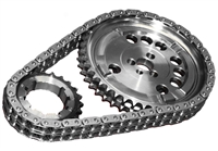 ROL-CS10040 Rollmaster - Timing Chain Set - Double Roller - LS2 Tall Deck 3 Bolt 4X Cam Reluctor - Gold Series