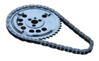 ROL-CS10075 Rollmaster - Timing Chain Set - Single Roller - LS2/LS7 3 Bolt 4X Cam Reluctor - Cam Sprocket & Chain Only
