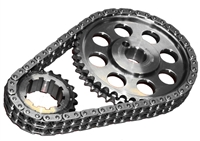 ROL-CS3010 Rollmaster - Timing Chain Set - Double Roller - SBF 302/351W CARB - Red Series