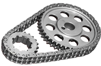 ROL-CS3031 Rollmaster - Timing Chain Set - Double Roller - SBF 302/351W CARB - Gold Series