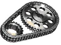 ROL-CS3040 Rollmaster - Timing Chain Set - Double Roller - SBF 302/351W EFI - Red Series