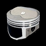Chevy 350 8.0cc Wiseco Hollow Dome Pro Tru Pistons