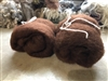 DHG Shop Maori Carded Wool Batts, Bark 2 oz