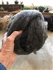 Chunky Core Roving:  dark gray, 4 oz