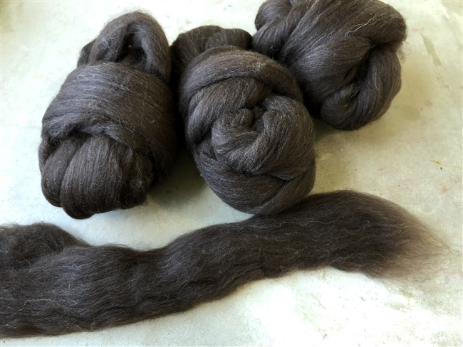Plain and Simple Brown Roving