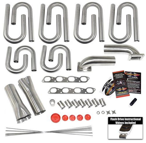 Aston Martin V8 Vantage Custom Turbo Header Build Kit Our Aston Martin Pro Series Turbo Header Build Kits Come With Everything You Need To Build A Custom Set Of Turbo Headers For