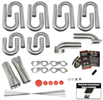 Big Block Chevy Round Port Turbo Header Build Kit