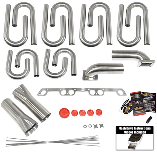 Chevy Straight-6 Custom Turbo Header Build Kit