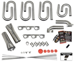 Jeep Wrangler 3.8L V6 Custom Turbo Header Build Kit