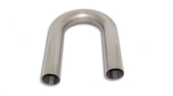 "2 1/4"" 180 Degree 3"" CLR Stainless Bend"