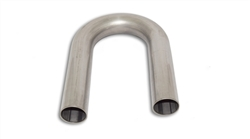 "2 1/8"" 180 Degree 2.5"" CLR 321 Stainless Bend"