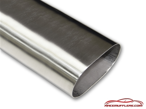 "Stainless Steel Exhaust Tubing 2/"" Straight Pipe"