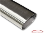 American Made 304 Stainless Oval Exhaust Straight Tubing