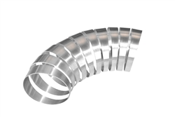 "1 3/4"" 6061 Aluminum 90 Degree Pie Cut Kit"