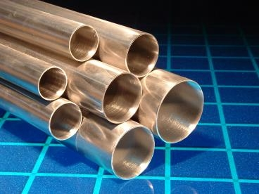 "American Made 5"" 304 Stainless Oval Exhaust Tubing Price Per Foot"