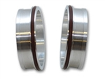"Vanjen 12547 Aluminum Weld Fitting with O-Rings for 3-1/2"" Tube O.D."