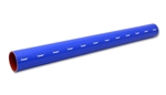"Vibrant 2705B Straight Hose Coupler, 1.75"" I.D. x 36"" long - Blue"
